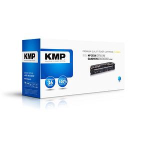 KMP H-T246C cyan Toner ersetzt HP 203A; Canon  054(CF541A;  3023C002)