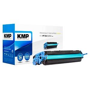 KMP H-T81 schwarz Toner ersetzt HP 124A (Q6000A)