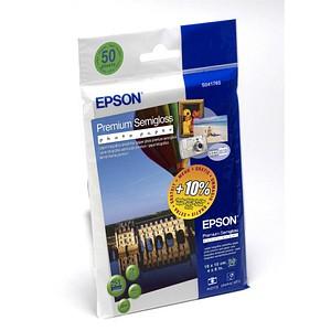 EPSON Fotopapier S041765 10,0 x 15,0 seidenmatt 251 g/qm 50 Blatt