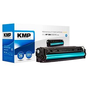 KMP H-T145 cyan Toner ersetzt HP 128A (CE321A)