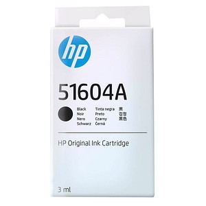 HP 51604A (51604A) schwarz Tintenpatrone