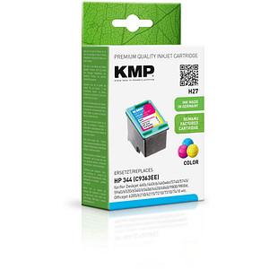KMP H27 color Tintenpatrone ersetzt HP 344 (C9363E)