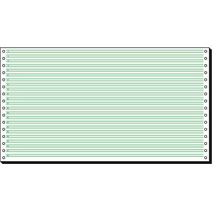 SIGEL Endlospapier Sondermaß 1-fach, 60 g/qm grün 2.000 Blatt