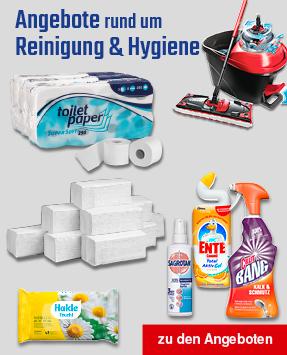 Angebote Hygieneschutz und Reinigung